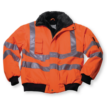 Veste pilote orange fluo T. M